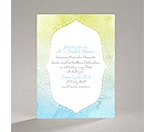 Watercolor Shading - Celestial Blue - Bridal Shower Invitation