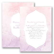 Watercolor Shading - Freesia - Invitation