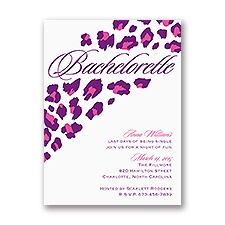 Wild Style - Bachelorette Party Invitation