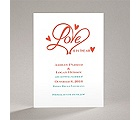 Loving Hearts - Save the Date Card