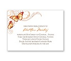 Delicate Butterfly - Poppy - Map Card