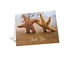 Starfish - Thank You Card and Envelope