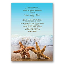 ... and Beach Wedding Invitations | Tropical Seasonal Invitations by Dawn