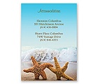 Starfish - Accommodations Card