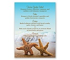 Starfish - Menu Card