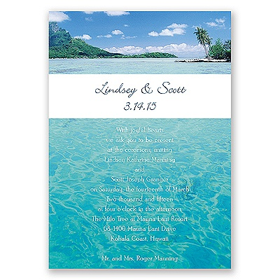 Sea of Love - Note Card and Envelope