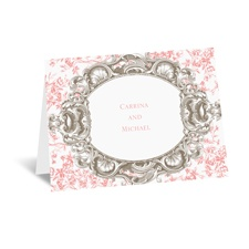 Fancy Frame - Thank You Card and Envelope