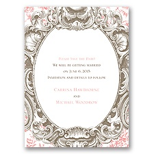 Fancy Frame - Save the Date Card