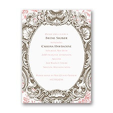 Fancy Frame - Bridal Shower Invitation