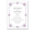 Deco Frame - Lavender - Bridal Shower Invitation