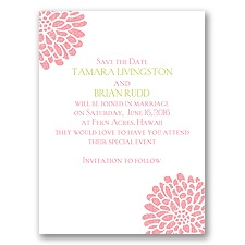 It Takes Two - Save the Date Card