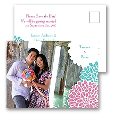 It Takes Two - Save the Date Postcard