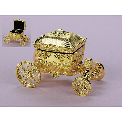 Fairy Tale Carriage Ring Box