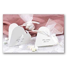 Heart Shaped Favor Boxes