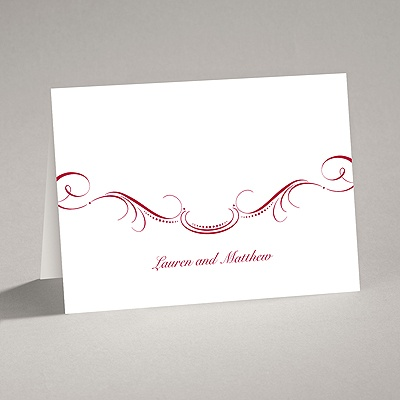 Delicate Flourishes - Note Card and Envelope