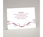 Delicate Flourishes - Reception Card