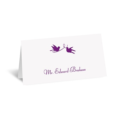 Pretty Birds - Place Card
