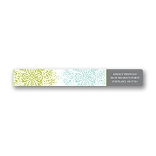 Hip Flourishes - Fresh - Address Label