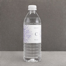 Hip Flourishes - Berry - Water Bottle Label