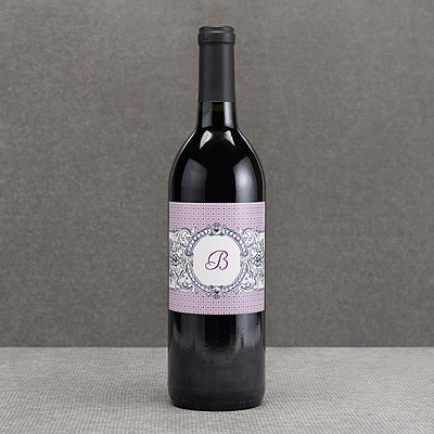 Hip Crest - Berry - Wine Bottle Label