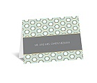Hip Geometric - Fresh - Thank You Card and Envelope