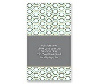 Hip Geometric - Fresh - Reception Card