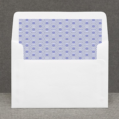 Hip Geometric - Berry - Custom Envelope Liner