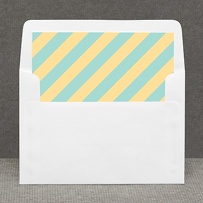 Hip Stripes - Fresh - Custom Envelope Liner