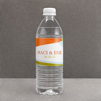 Hip Angles - Fresh - Water Bottle Label