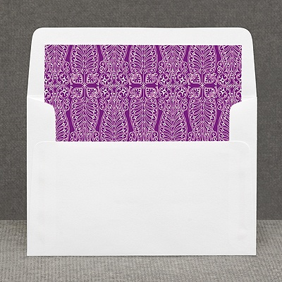 Hip Deco - Berry - Custom Envelope Liner