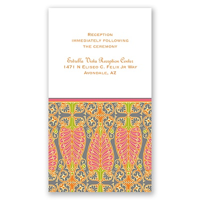 Hip Deco - Fresh - Reception Card