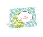 Hip Roses - Fresh - Thank You Card and Envelope