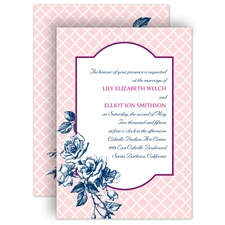 Hip Roses - Berry - Invitation