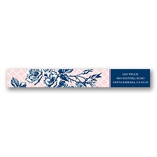Hip Roses - Berry - Address Label