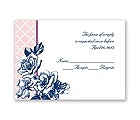 Hip Roses - Berry - Response Card and Envelope