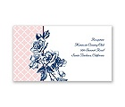 Hip Roses - Berry - Reception Card