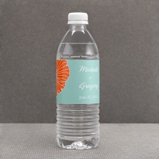 Hip Blossoms - Fresh - Water Bottle Label