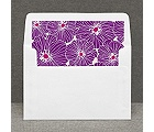 Hip Blossoms - Berry - Custom Envelope Liner