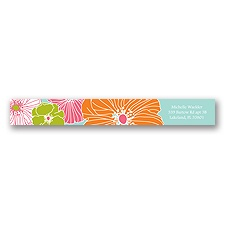 Hip Blossoms - Fresh - Address Label