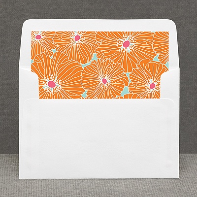 Hip Blossoms - Fresh - Custom Envelope Liner