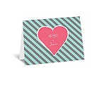 Hip Heart - Fresh - Thank You Card and Envelope