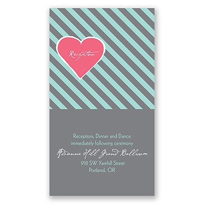 Hip Heart - Fresh - Reception Card