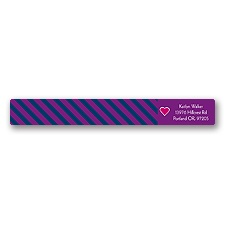 Hip Heart - Berry - Address Label