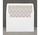 Hip Chevron - Fresh -  Custom Envelope Liner