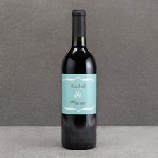 Hip Type - Fresh - Wine Bottle Label