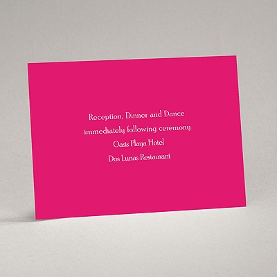 Your Color - Reception Card