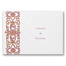 Romantic Imagination Note Card and Envelope - Rapunzel