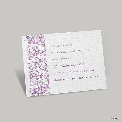 Romantic Imagination Reception Card - Rapunzel