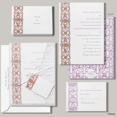 Romantic Imagination Invitation - Rapunzel