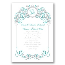 Fairy Tale Filigree Invitation - Ariel